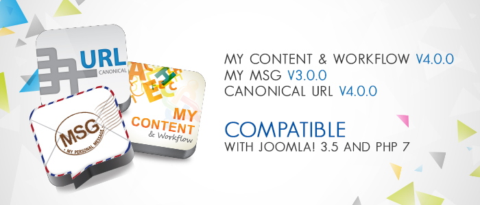 3rd Joomla Extension Compatible with Joomla! 3.5 and PHP 7