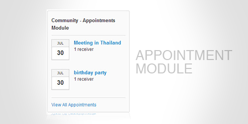 Appointment Module