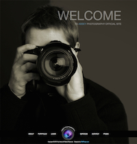 Photo Joomla! Template