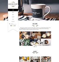 Coffee Story Joomla! Template