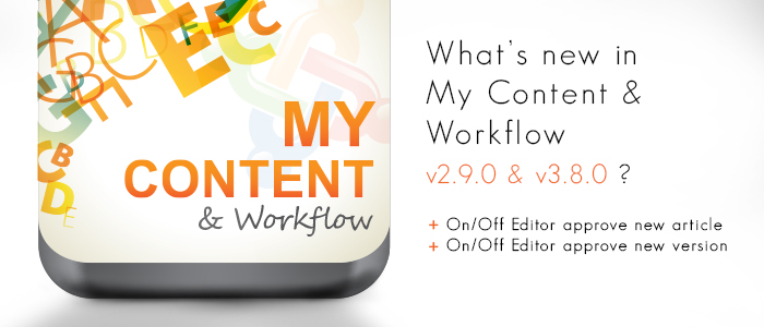 My Content & Workflow v2.9.0 & v3.8.0 released