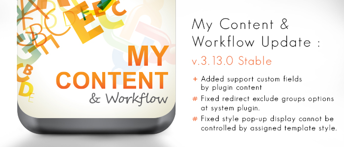 My Content & Workflow v2.14.0 & v3.13.0 released