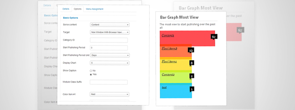 Bar Graph Most View 05