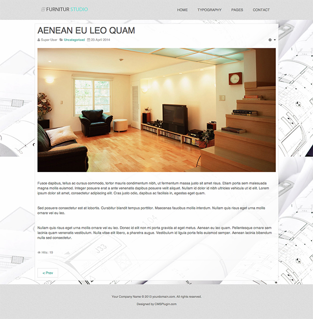 Furnitur Studio Article Page