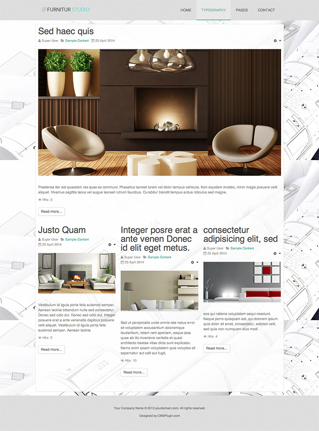 Furnitur Studio Featured Blog Page