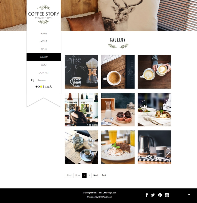 Coffee Story Gallery Page
