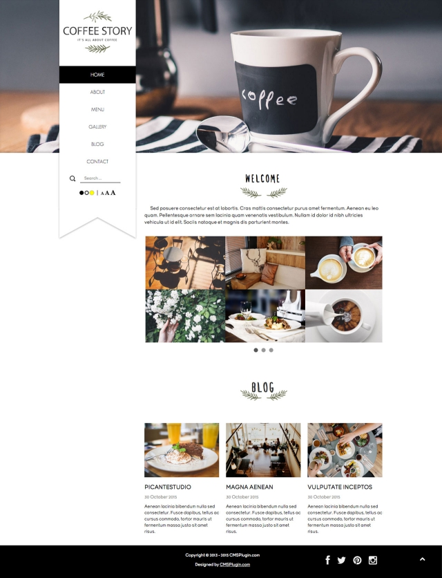 Coffee Story Home Page