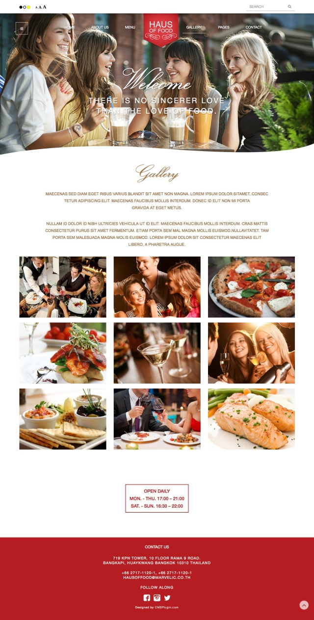 Haus of food Gallery Page