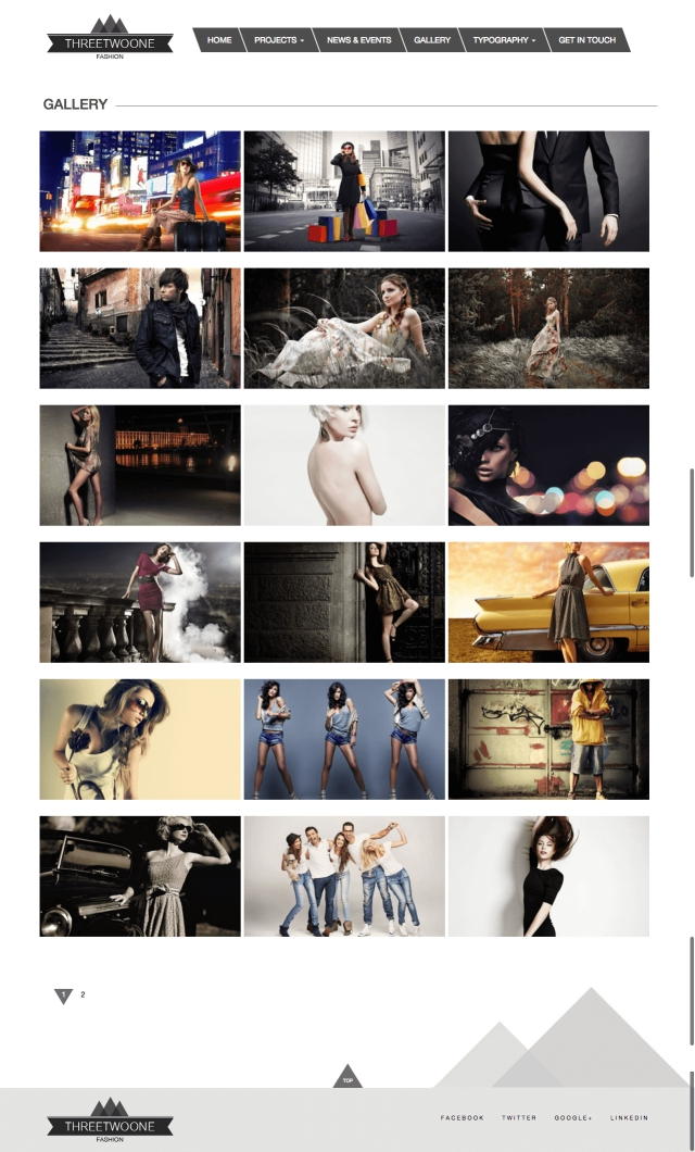 Threetwoone Gallery Page