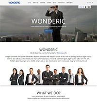 Wonderic Joomla! Template