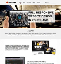 Subtown Joomla! Template