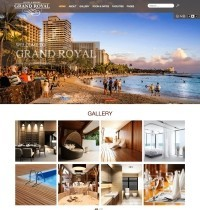 Grand Royal Hotel  Joomla! Template