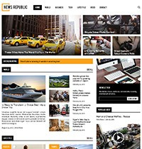 News Republic Joomla! Template