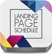 Landing Page Schedule